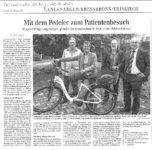 Artikel der Schwäbischen Zeitung vom 20.10.2015